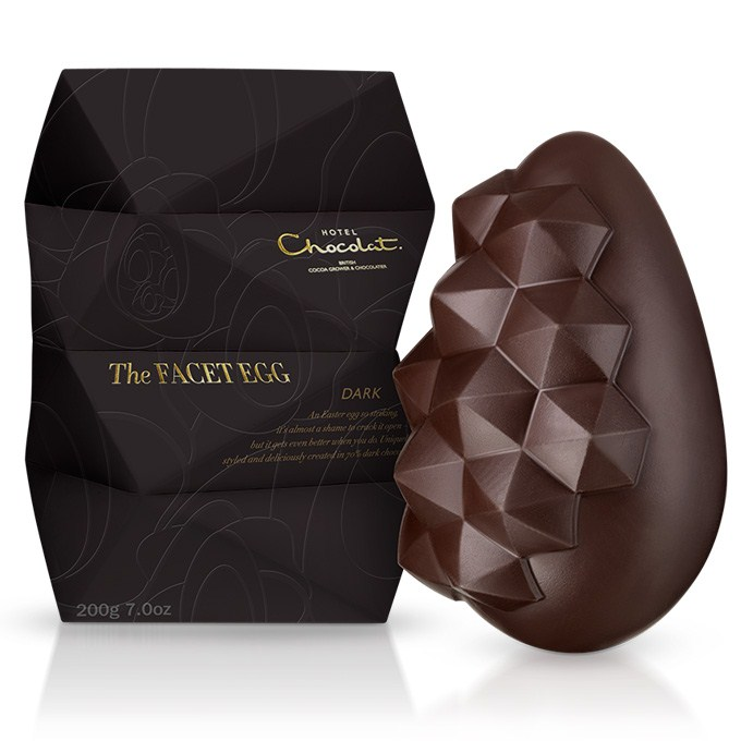 The Dark Chocolate Facet Easter Egg