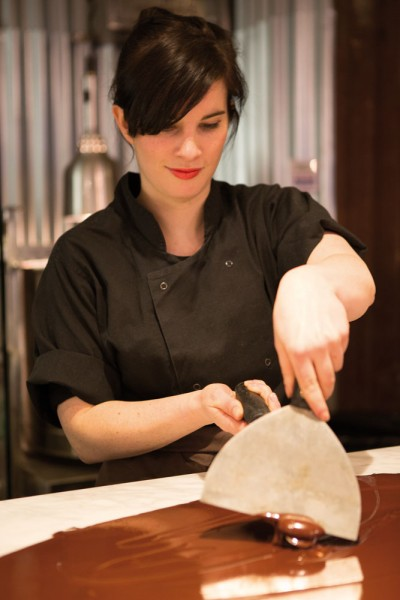 Chocolatier Louise Anderson