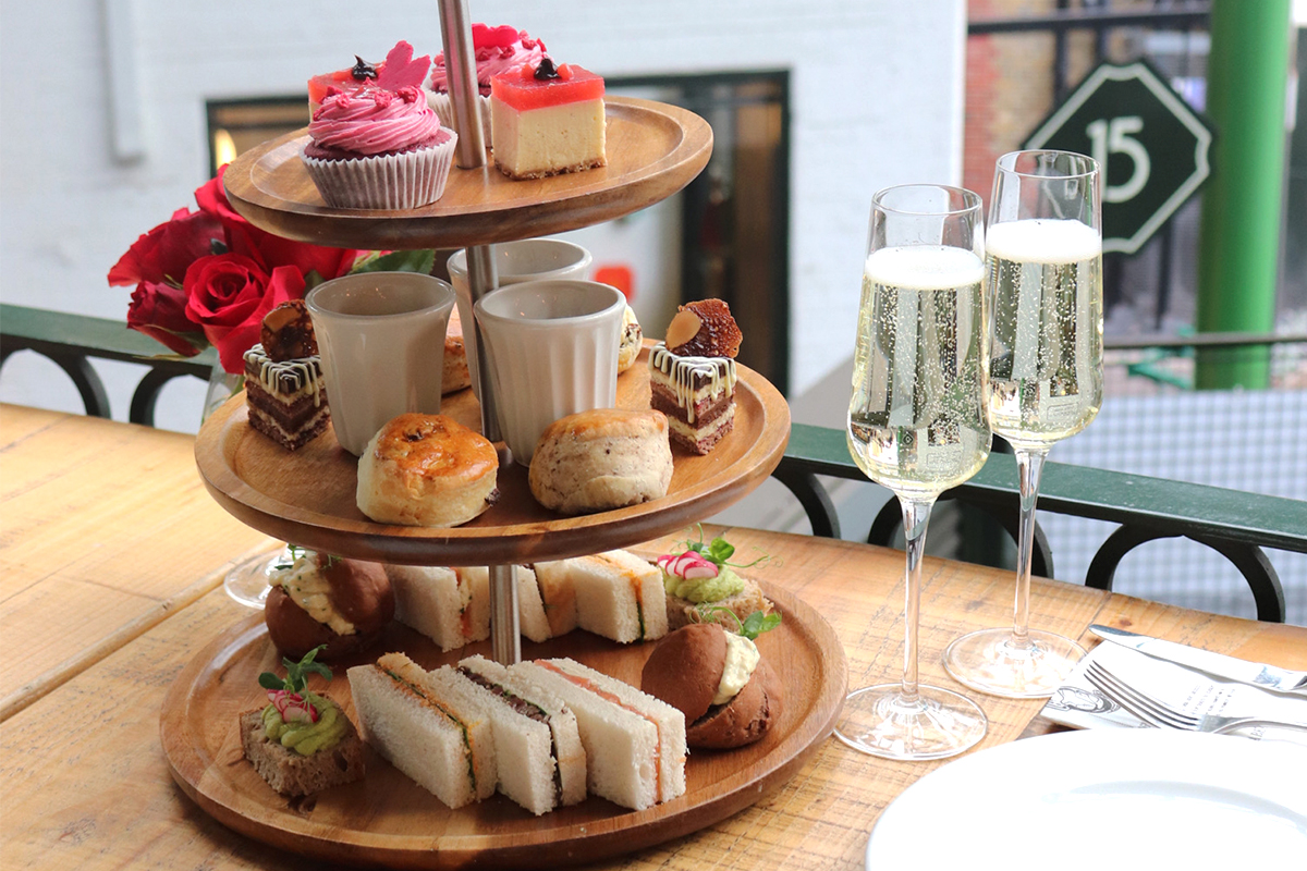 What is a chocolate afternoon tea?