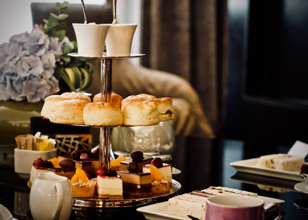 What does afternoon tea consist of?