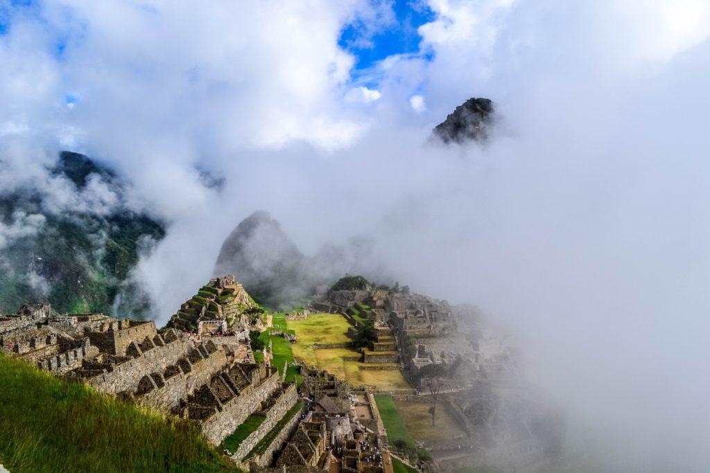 aztec ruins in south america