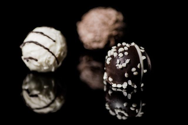 Delicious homemade chocolates