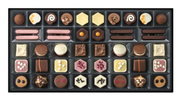 Patisserie Chocolat box to put in a hamper