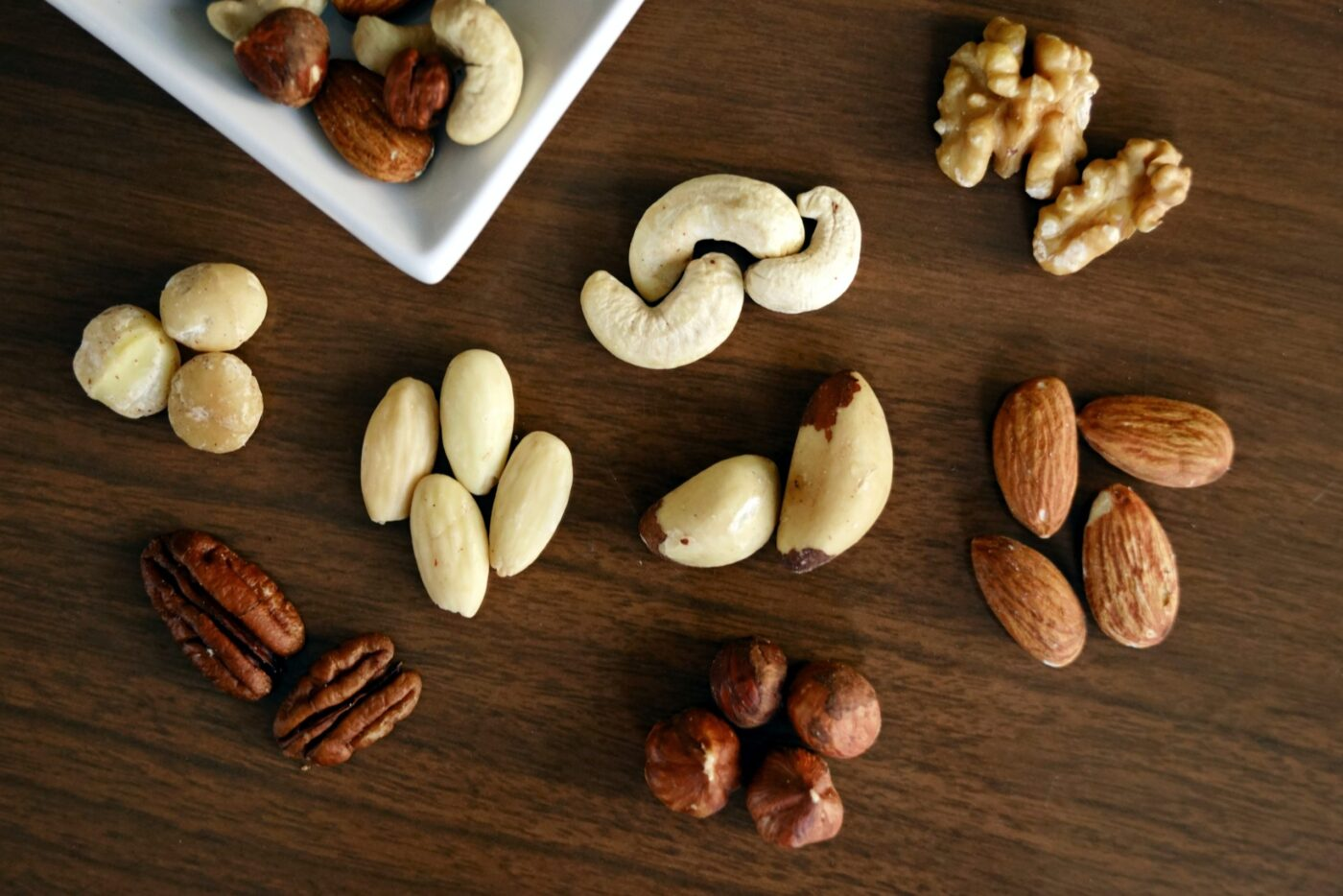 Which nuts go best with chocolate?