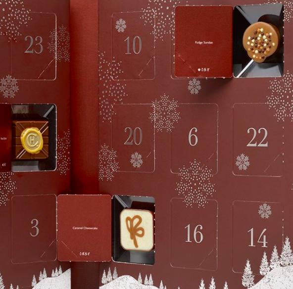 Hotel Chocolat Christmas advent calendar