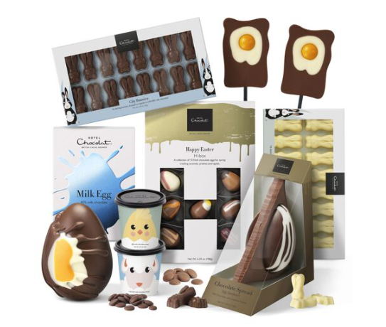 Easter chocolate selection from Hotel Chocolat