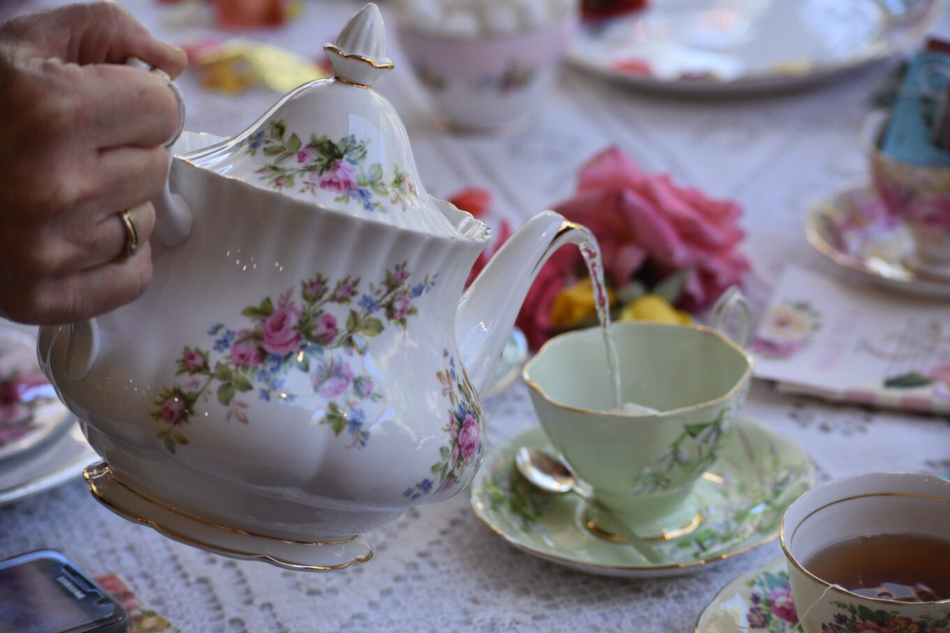 How to host a chocolate-inspired Mad Hatter's tea party