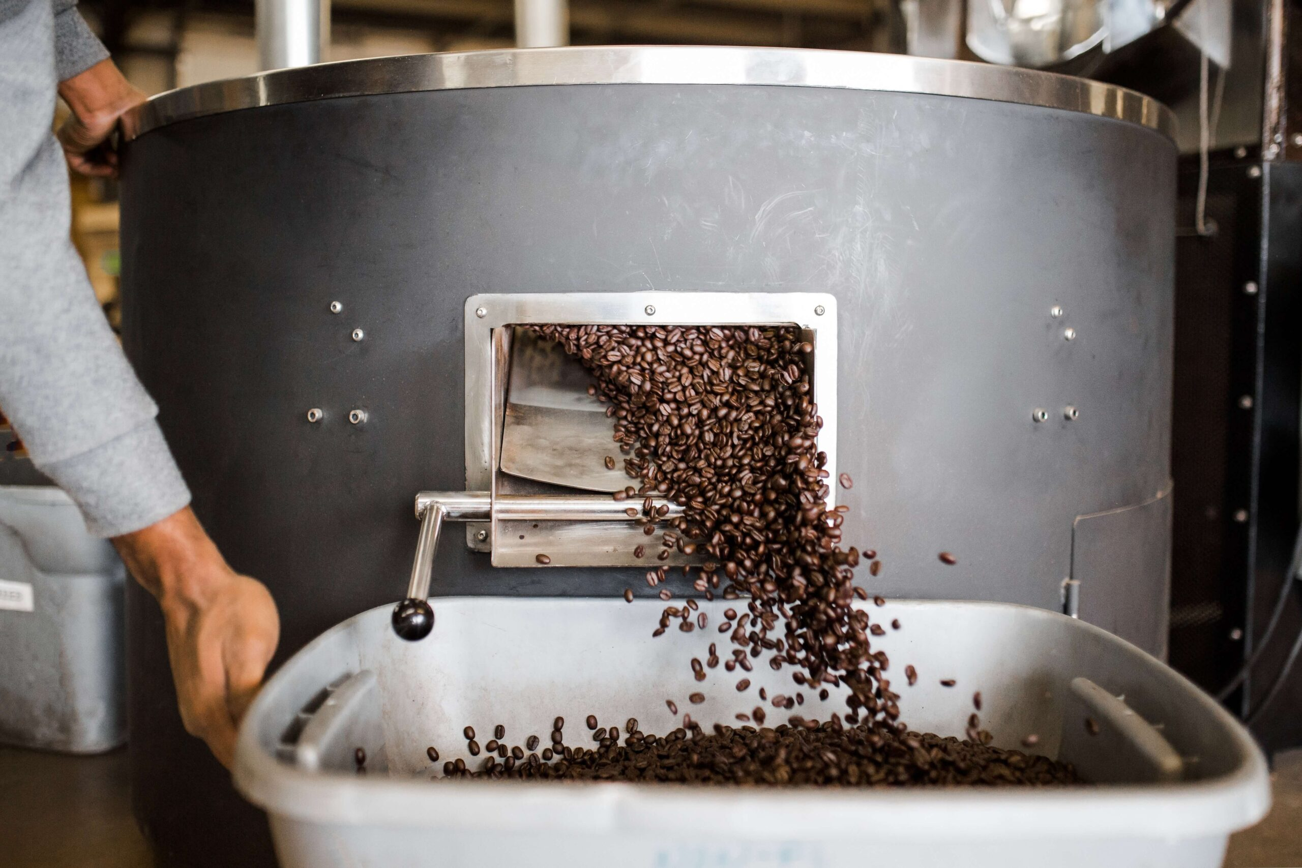 How does coffee roast affect the flavour?