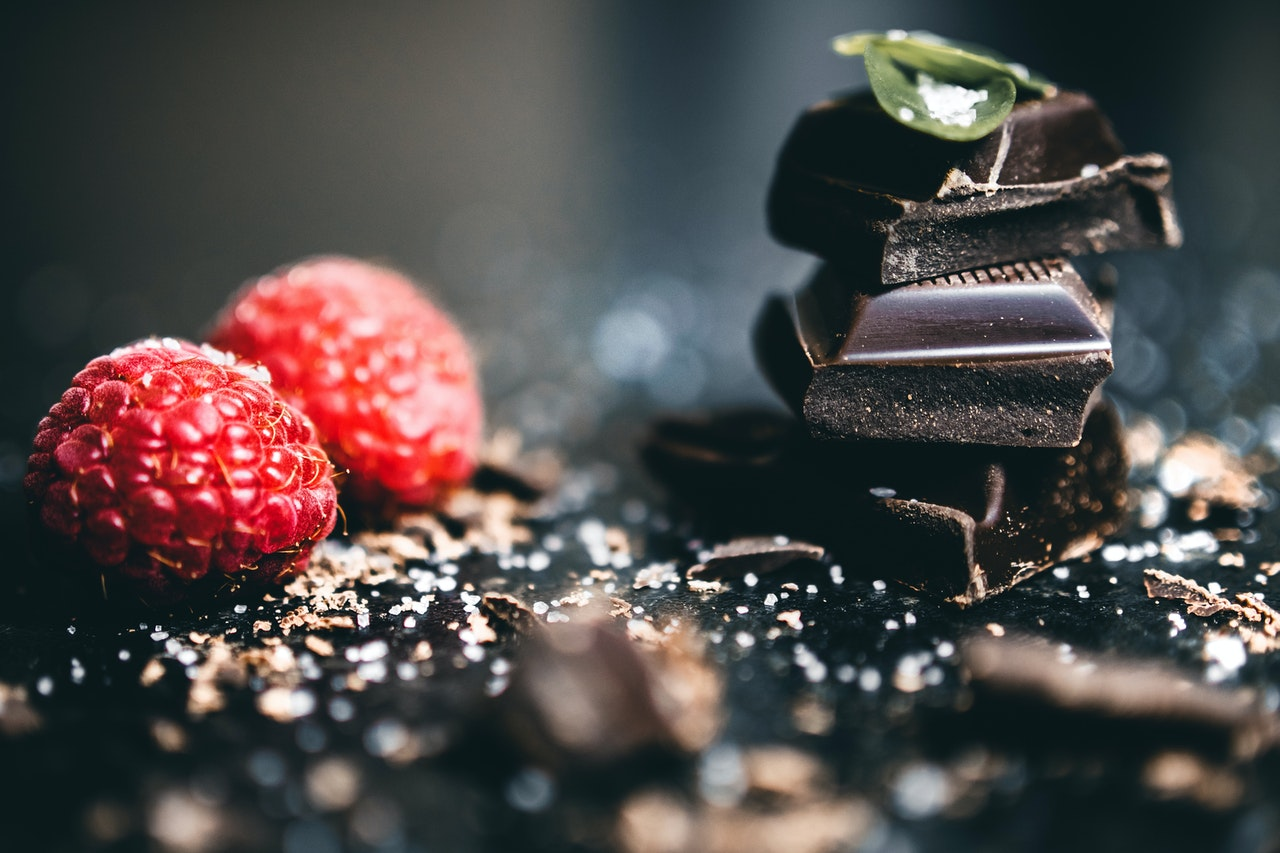 What is unsweetened chocolate?