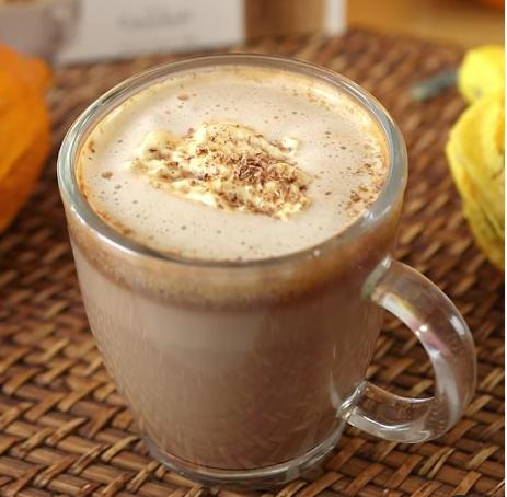 Scott's velvetised Pumpkin Spice Chocolate Latte recipe